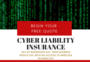 image of quote ad for cyber liability